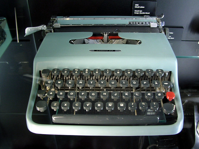 Olivetti Typewriter from Flickr via Wylio