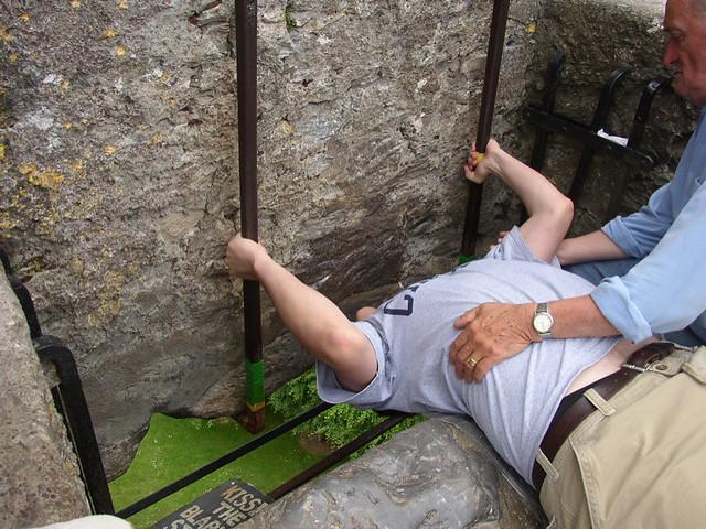 Castillo de Blarney, Piedra de la Elocuencia, Irlanda