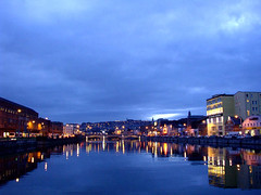 The Cork city skyline.