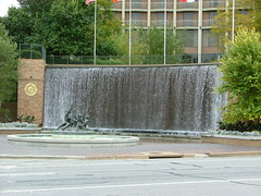 The Fairmont Hotel Waterfall