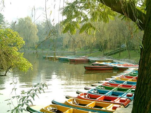 people's park, chengdu, china