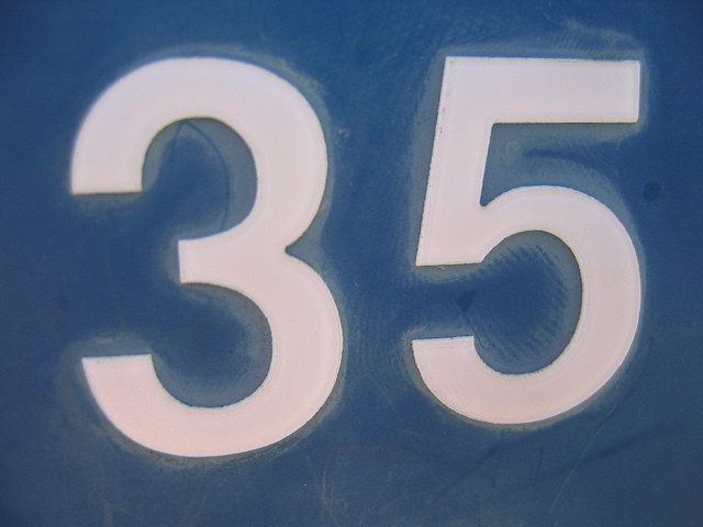 The Number 35 Flickr Photo Sharing