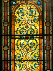the Congregational Church Window