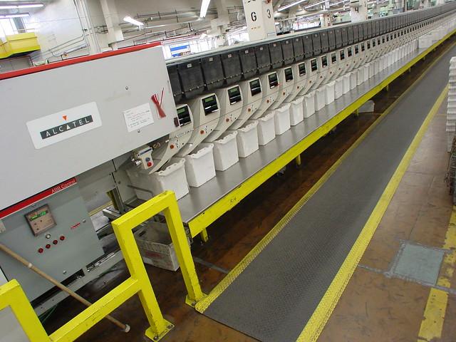 mail processing machine