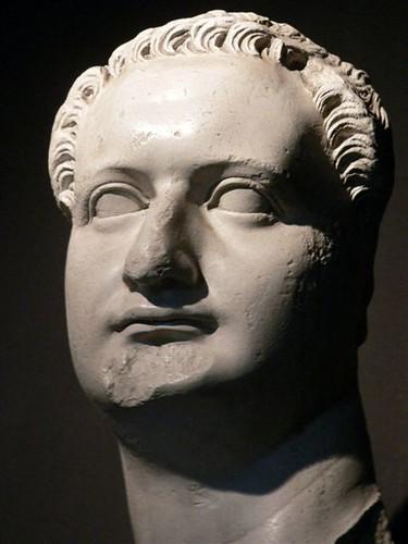 Head Of The Roman Emperor Domitian Roman Marble 1st
