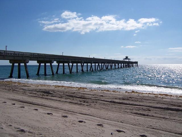 Deerfield beach fishing pier flickr photo sharing for Deerfield beach fishing pier
