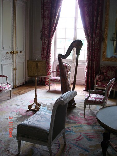 harp room grand trianon versailles