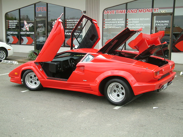 Lamborghini Countach Kit Car Flickr Photo Sharing