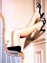 hand, footwear, clothing, finger, high-heeled footwear, muscle, limb, leg, thigh,