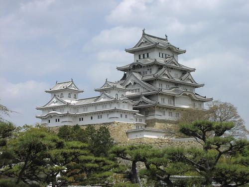 The splendid Himeji Castle