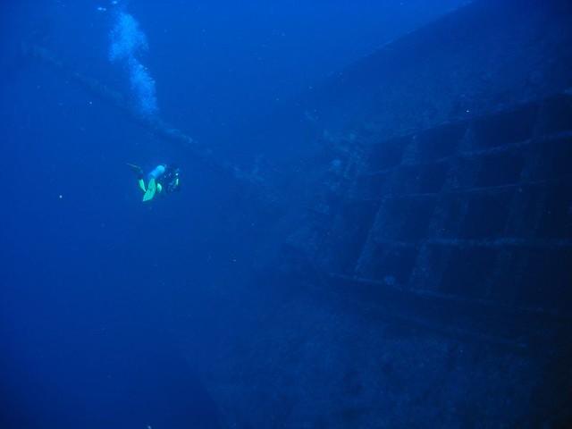 El Numidia buceo
