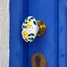Hand-painted Door Handle
