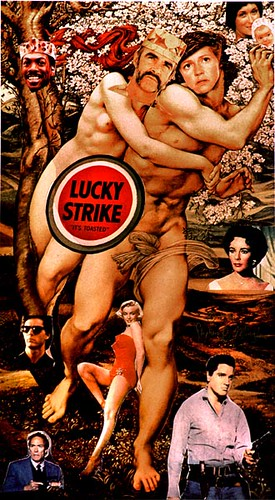 """Lucky Strike"" or the rape of Norma-Jean, 1990 by Stephen R Mingle"