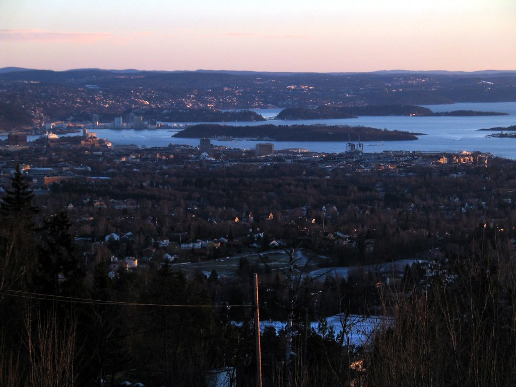 Oslo in winter
