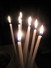 decor(0.0), match(0.0), light fixture(0.0), hanukkah(0.0), candle(1.0), light(1.0), darkness(1.0), flame(1.0), lighting(1.0),