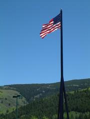Flag Over Wal-mart