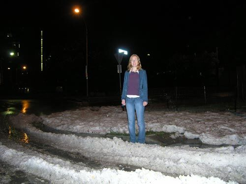 Me on my street