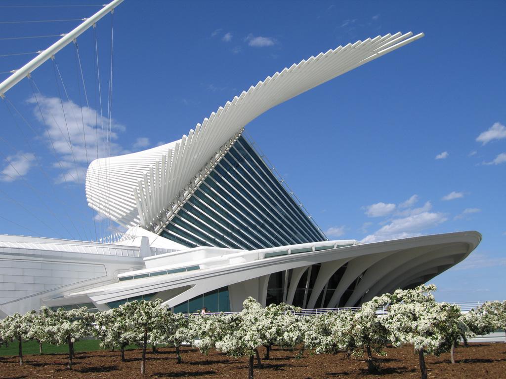 Milwaukee art museum quadracci pavilion a photo on - Architektonische meisterwerke ...