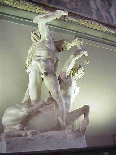 Hercules By Vincenzo De Rossi 1525 1587 In The Palazzo V