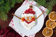 Happy Santa pancake!