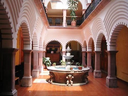 Patio De Una Casa En Querétaro