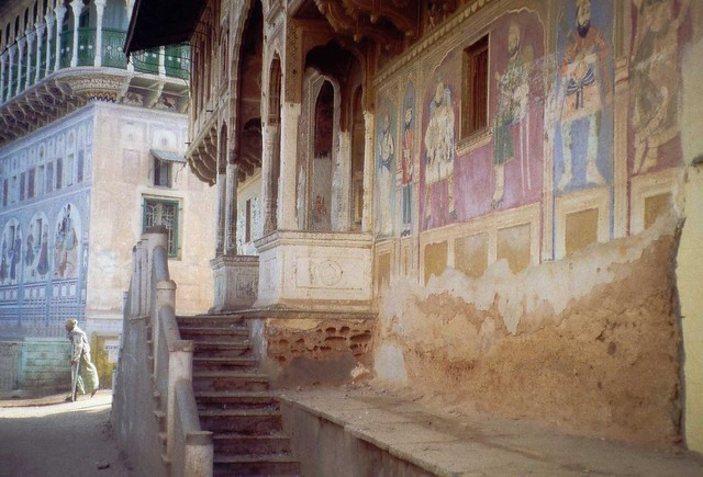 Shekhawati painted houses (India)