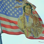 ~Flag on Tuscarora Indian Reservation~