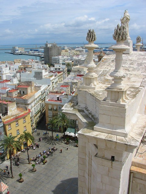 Cadiz - View from the top of the Torre Poniente (Cathedral) - Spain
