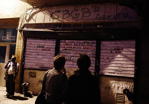 Last Picture Of CBGBs