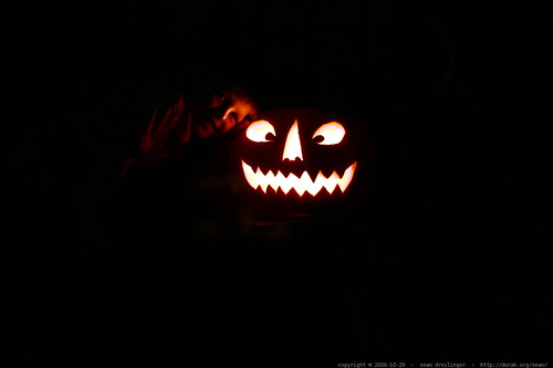 nick and his jack o lantern    MG 3542
