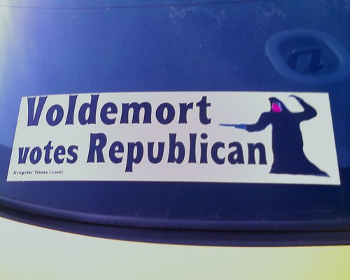 Voldemort votes Republican