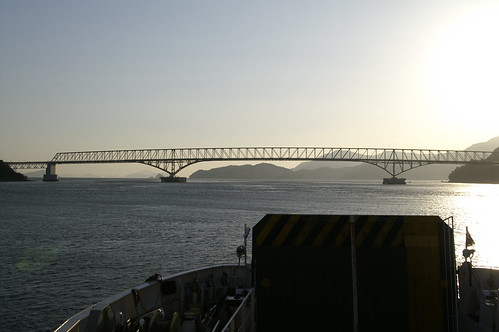 ocean trip ferry sunrise geotagged yamaguchi day3 ehime setouchi 061009 trip06100710 yanaimatsuyama geolat33956087 geolon132170913
