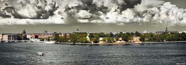 Whipped Cream over Skeppsholmen 2