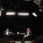 Bill Gates and Moderator Charlie Rose of PBS