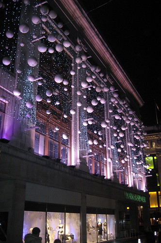 UK - London: Oxford Street - Marks & Spencer
