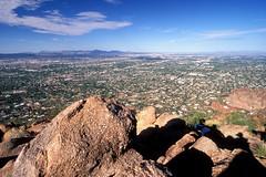 Birds-Eye View of Phoenix, Arizona