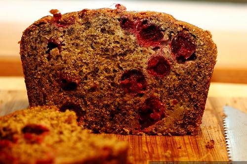 recipe: banana cranberry bread    MG 6313