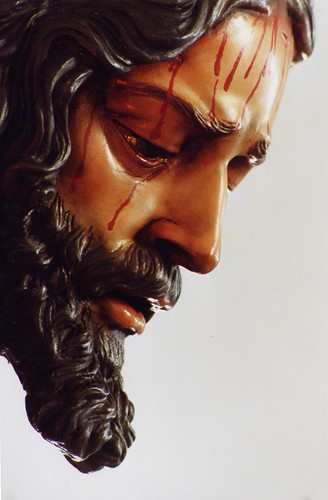 perfil del Cristo de la Sentencia
