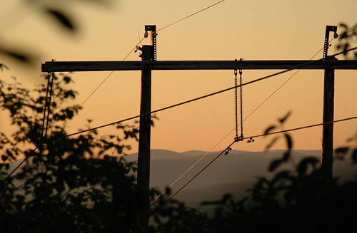 2005 statepark trees sunset newyork mountains nature outdoors hiking powerlines minnewaska