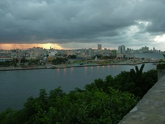 La Habana Bay (from the Castillo) - Cuba