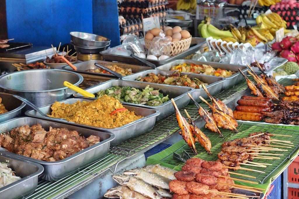 Stree food à Chiang Mai