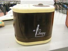 Mr. Sharpy electric pencil sharpener, Value Village, Crown Hill/Ballard, Seattle, 12/03/06