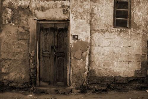 Old wALL And Door- Muharraq