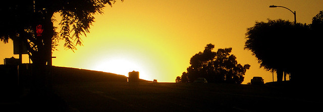 Sunset from Selva Road