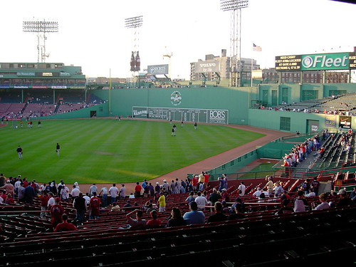 Fenway Batting Practice (Credit: bryce_edwards on Flickr.com)