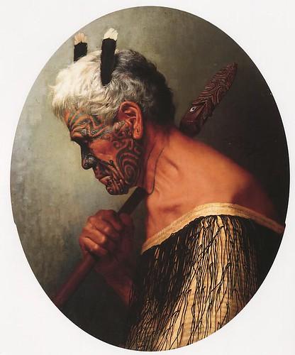 Goldie,Te Aho o Te Rangi Wharepu painted 1905