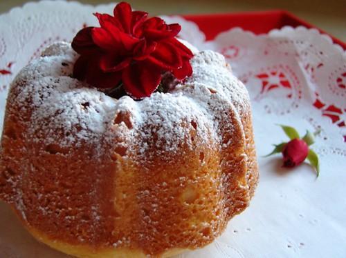 Cherry Cream Cheese Pound Cake