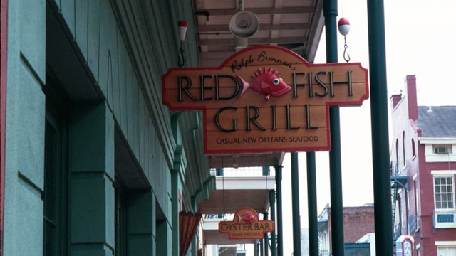 Red fish grill in new orleans flickr photo sharing for Red fish grill new orleans la