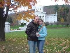 Josh and Lori in Montpelier