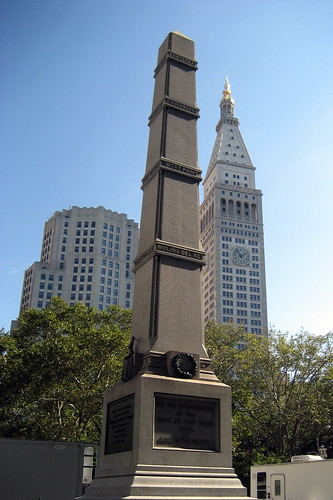 NYC: Met Life Tower and General William Jenkins Worth Monument